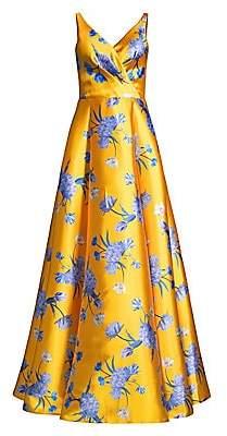 Sachin + Babi Women's Rae Floral Gown - Size 0