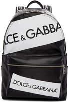Dolce & Gabbana Black Tape Logo Backpack