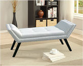Asstd National Brand Baxton Studio Tamblin Faux-Leather Upholstered Bench