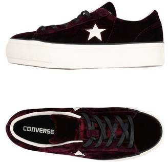 Converse ONE STAR PLATFORM OX VELVET Low-tops & sneakers