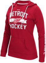 Reebok Women's Detroit Red Wings Banner Arch Hoodie