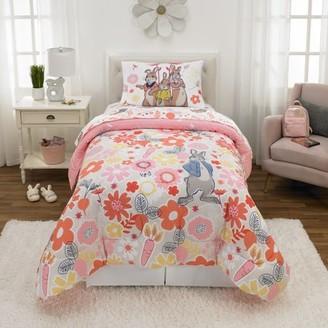 Peter Rabbit Bed in a Bag Bundle Set, Kids Bedding, Super Soft Comforter and Sheet Set, 4 Piece TWIN Size