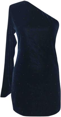 RtA Blue Velvet Dresses