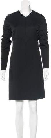 Courreges Wool Knee-Length Dress w/ Tags