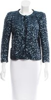 Maje Sequin Evening Jacket