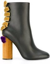 Marco De Vincenzo bow appliqué ankle boots