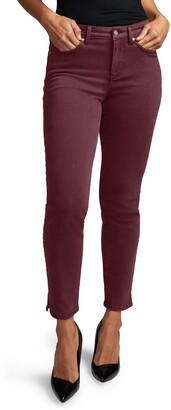 NYDJ Curves 360 by Slim Straight Leg Ankle Jeans