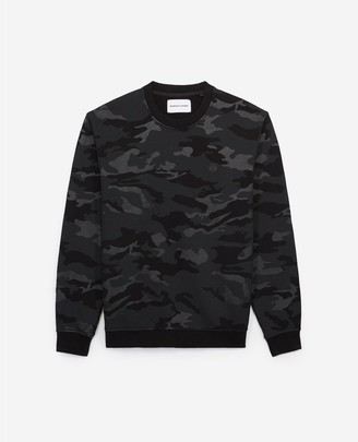 The Kooples Camouflage-print sweatshirt with crew neck