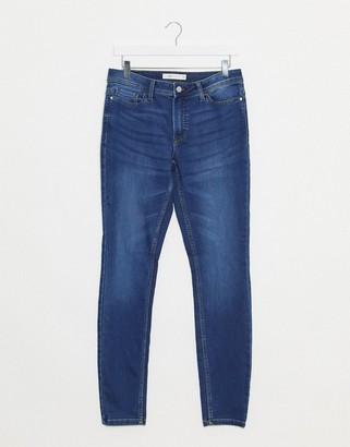 JDY jake regular skinny jeans in blue