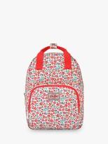 Cath Kidston Cath Kids Children's Ashbourne Ditsy Medium Backpack, Red