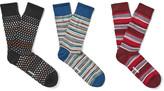 Missoni - Three-pack Patterned Cotton Socks