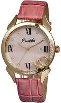 Xo Women's Bertha BR2304 - Pink Leather/Pink Wrist Watches
