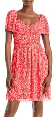 French Connection Leo Memphis Fit-and-Flare Dress