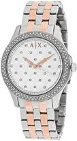 Armani Exchange Hampton AX5249 Women's Watch with Crystal Accents