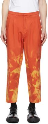 Études Orange Miles Bleached Cargo Pants