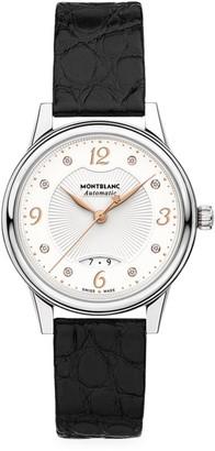 Montblanc Boheme Stainless Steel & Alligator Strap Automatic Watch