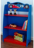Kid Kraft Racecar Bookcase