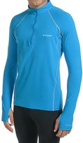 Columbia Midweight Stretchy Omni-Heat® Base Layer Top - Zip Neck, Long Sleeve (For Men)