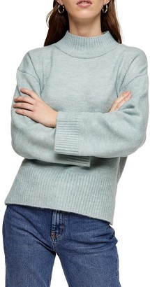 Topshop Central Seam Knitted Sweater