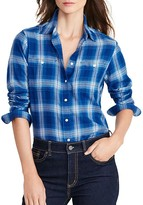 Lauren Ralph Lauren Plaid Button Down Shirt