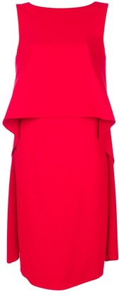 Givenchy shift flared dress