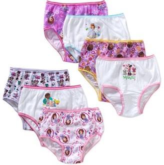 Disney Girls 7-Pack Fancy Nancy Underwear Panty Underwear