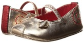 Little Marc Jacobs Leather Mouse Ballerinas Girls Shoes