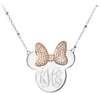 Disney Minnie Mouse Monogram Necklace by Rebecca Hook Personalizable