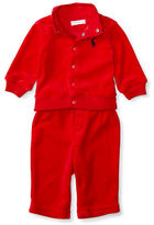 Ralph Lauren Baby Boys Two-Piece Jacket and Pants Set