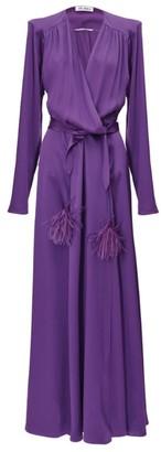 ATTICO Tie Waist Gown