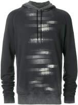 Tom Rebl graphic print hoodie