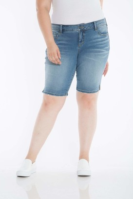 SLINK Jeans The Bermuda Shorts in Amara Size 14