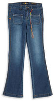 Lucky Brand Girls 7-16 Flared Cotton-Stretch Jeans