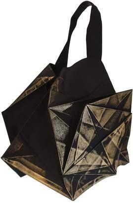 Issey Miyake Black Cotton Handbags