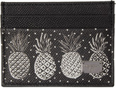 Dolce & Gabbana Black Pineapple Card Holder