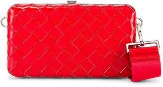 Bottega Veneta Shoulder Bag in Bright Red | FWRD