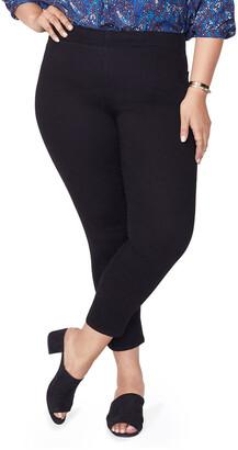 NYDJ Plus Plus Size Pull-On Skinny Ankle Jeans