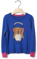 Gap Intarsia owl sweater