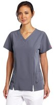 Dickies Scrubs Women's Xtreme Stretch V-Neck Shirt (SIZE 2X-3X)