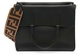Fendi Women's Large Flip Leather Crossbody Bag