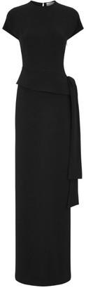Victoria Beckham Peplum Ruffled Gown