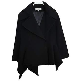 John Rocha Black Wool Coat for Women