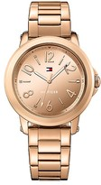 Tommy Hilfiger Rose Gold Mirror Dial Watch