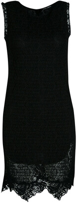 Dolce & Gabbana Black Lace Sleeveless Dress M