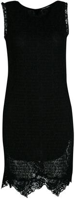 Dolce & Gabbana Black Lace Sleeveless Dress M