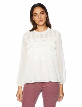 Velvet by Graham & Spencer Women's Jolie Chiffon Shirt
