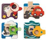 Plan Toys Vehicle Puzzle 5pc