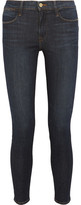 Frame Le High Skinny Jeans - Dark denim