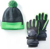 ZeroXposur Boys Raider Glove & Beanie Set