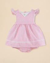 Ralph Lauren Infant Girls' Gingham Dress - Sizes 3-9 Months